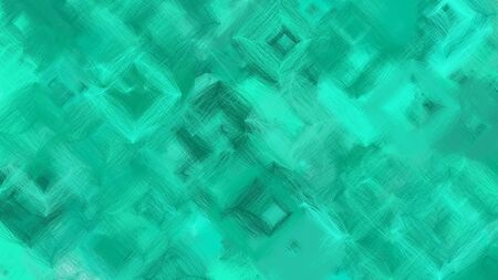 beautiful digital art with light sea green, turquoise and teal green colors. dynamic and colorful abstract artwork can be used as wallpaper, poster, canvas or background texture. Фото со стока