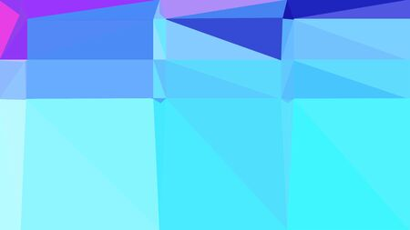 abstrakter geometrischer Hintergrund mit türkisfarbenen, schieferblauen und hellhimmelblauen Farben. geometrische Dreieckskomposition für Poster, Karten, Tapeten oder Texturen.