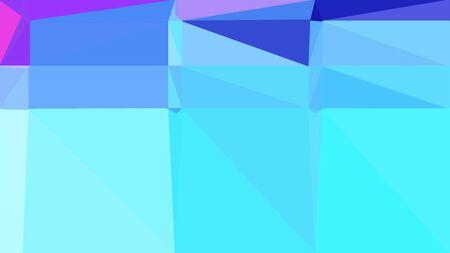 Fondo geométrico abstracto con colores turquesa, azul pizarra y azul cielo claro. Composición de estilo triángulo geométrico para carteles, tarjetas, papel tapiz o textura.