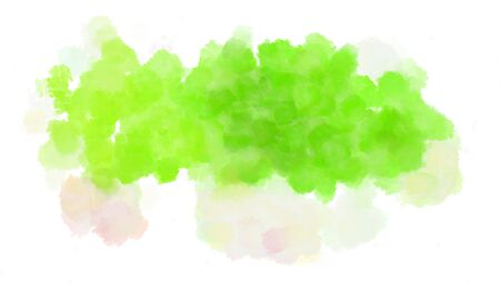 watercolor green yellow, beige and khaki color graphic background illustration painting. Stok Fotoğraf