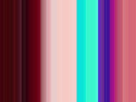 colorful striped background with dark pink, turquoise and very dark pink colors. abstract illustration can be used as wallpaper, background graphics element or for presentation. Stock Photo