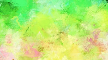 artistic illustration painting with khaki, lime green and antique white colors. use it as creative background or texture.