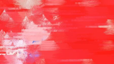 brush painted background with crimson, baby pink and pastel magenta color. Stock Photo