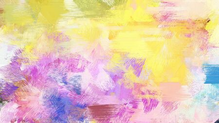 abstract brush painting for use as background, texture or design element. mixed colours of baby pink, bisque and steel blue.