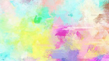 light gray, khaki and medium aqua marine color brushed painting. use it as background or texture. 版權商用圖片