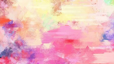 baby pink, mulberry  and pale violet red color brushed painting. use it as background or texture.