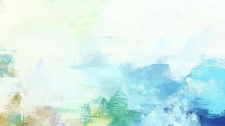 brush painted background with honeydew, cadet blue and sky blue color.