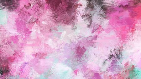 abstract brush painting for use as background, texture or design element. mixed colours of thistle, old mauve and moderate pink. Reklamní fotografie
