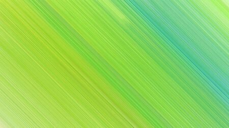 dynamic background with yellow green, medium aqua marine and light green lines. can be used for cover design, poster, wallpaper or advertising.