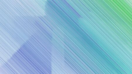 creative background with sky blue, lavender blue and medium sea green lines. can be used for cover design, poster, wallpaper or advertising. Zdjęcie Seryjne