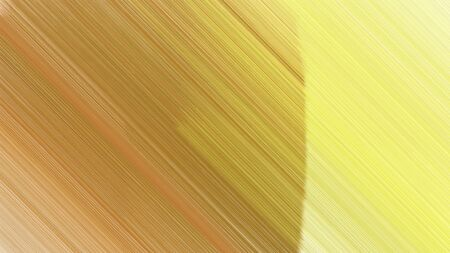 trendy background with dark khaki, peru and khaki lines. can be used for cover design, poster, wallpaper or advertising.