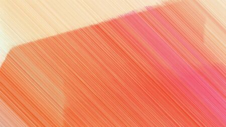 dynamic background with salmon, coral and bisque lines. can be used for cover design, poster, wallpaper or advertising. Zdjęcie Seryjne