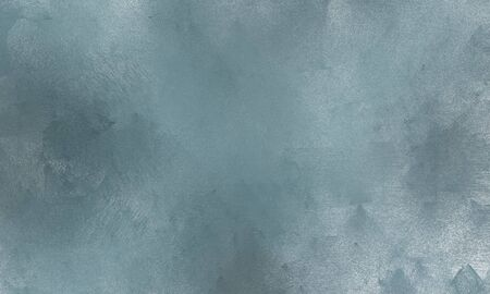 background texture painted with light slate gray, light gray and pastel blue color. can be used as graphic element, wallpaper and texture. Standard-Bild - 129219461