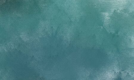 old used texture with teal blue, powder blue and cadet blue color. can be used as graphic element, wallpaper and texture. Standard-Bild - 129219270