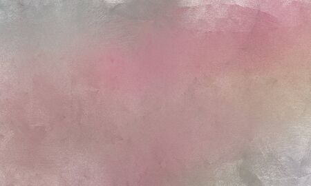 vintage brushed painting texture element  with rosy brown, light gray and baby pink color. can be used as graphic element, wallpaper and texture. Imagens