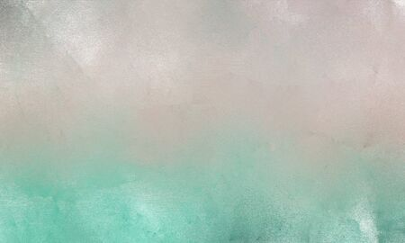 grunge background with silver, ash gray and medium aqua marine colored brush strokes. can be used as graphic element, wallpaper and texture.
