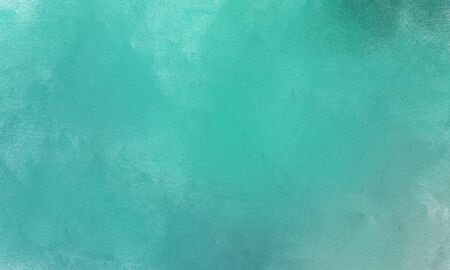 aged brushed painting texture element with cadet blue, sky blue and pale turquoise color. can be used as graphic element, wallpaper and texture. Foto de archivo