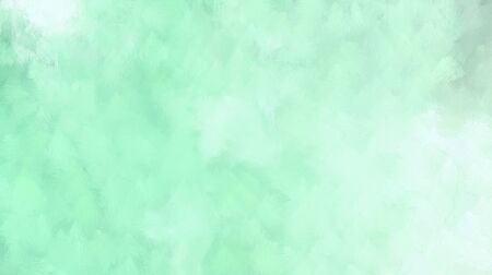 elegant cloudy painting texture. pale turquoise, light cyan and aqua marine colored illustration. use it e.g. as wallpaper, graphic element or texture. Banco de Imagens