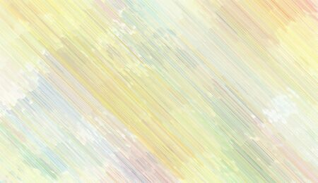 futuristic background texture with antique white, pale golden rod and khaki colored diagonal lines. can be used for postcard, poster, texture or wallpaper. Banque d'images - 129459375