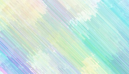 abstract diagonal background with light gray, sky blue and medium turquoise colored lines. can be used for postcard, poster, texture or wallpaper. Banque d'images - 129459430