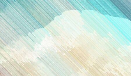abstract diagonal background with light gray, beige and cadet blue colored lines. can be used for postcard, poster, texture or wallpaper. Banque d'images - 129459438