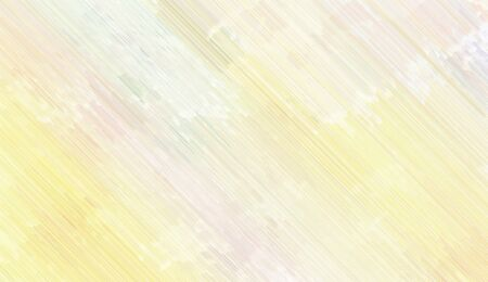 modern background texture with antique white, Light grayish green and pale golden rod colored diagonal lines. can be used for postcard, poster, texture or wallpaper. Banque d'images - 129459494