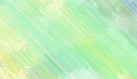 background illustration with tea green, light golden rod yellow and light green colored diagonal lines. can be used for postcard, poster, texture or wallpaper. Banque d'images - 129459495