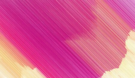 moderate pink, wheat and medium violet red diagonal line color design. bright color background. art illustration can be used for wallpaper cards, poster, canvas or texture. Stock Photo