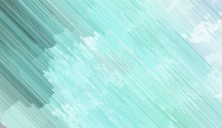futuristic background texture with powder blue, teal blue and cadet blue colored diagonal lines. can be used for postcard, poster, texture or wallpaper. Banque d'images - 129459604