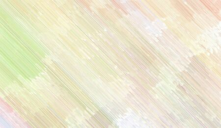 background illustration with antique white, pale golden rod and white smoke colored diagonal lines. can be used for postcard, poster, texture or wallpaper. Banque d'images - 129459663