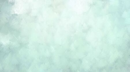 elegant cloudy painting texture. light gray, honeydew and pastel blue colored illustration. use it e.g. as wallpaper, graphic element or texture. Banco de Imagens