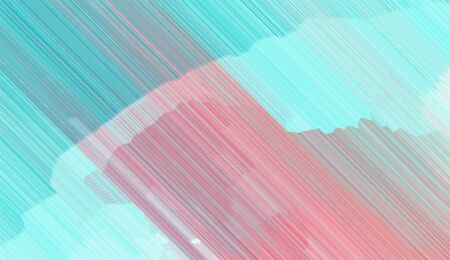 abstract diagonal background with pastel blue, light blue and medium turquoise colored lines. can be used for postcard, poster, texture or wallpaper. 스톡 콘텐츠