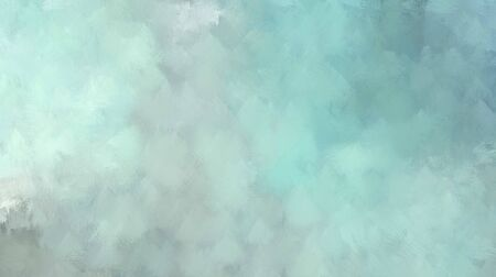 abstract background with space for text or image. pastel blue, cadet blue and pale turquoise colored illustration. use painted graphic it as wallpaper, graphic element or texture. Zdjęcie Seryjne - 130052580