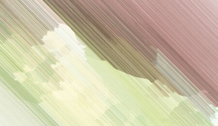 background illustration with pastel gray, rosy brown and dark olive green colored diagonal lines. can be used for postcard, poster, texture or wallpaper.