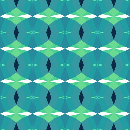 seamless repeating pattern texture with light sea green, medium aqua marine and very dark blue colors.
