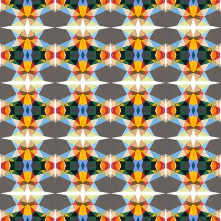seamless repeatable pattern abstract with sandy brown, dim gray and sky blue colors.