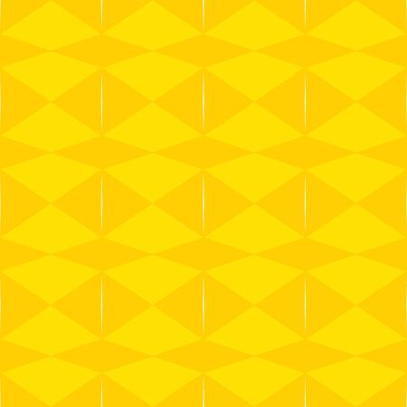 seamless repeating pattern abstract with gold, tangerine yellow and floral white colors. 스톡 콘텐츠 - 130052807