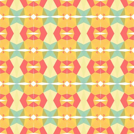 seamless pattern texture with pastel orange, pastel red and pale golden rod colors.