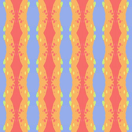 seamless pattern with sky blue, sandy brown and pastel red colors. repeatable texture for wallpaper, creative or fashion design.