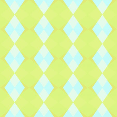 seamless geometric pattern with khaki, pale turquoise and honeydew colors.