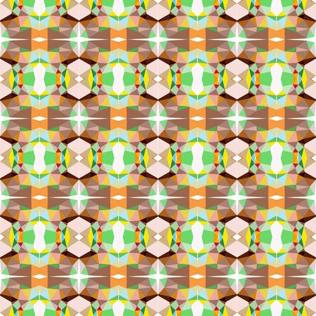 seamless repeating pattern design with dark khaki, rosy brown and dark olive green colors.