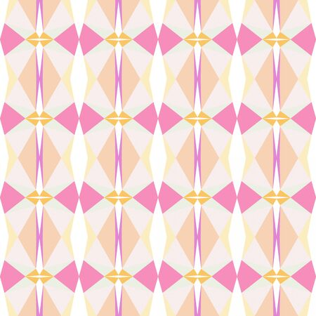 seamless pattern design with antique white, pastel magenta and linen colors. Reklamní fotografie
