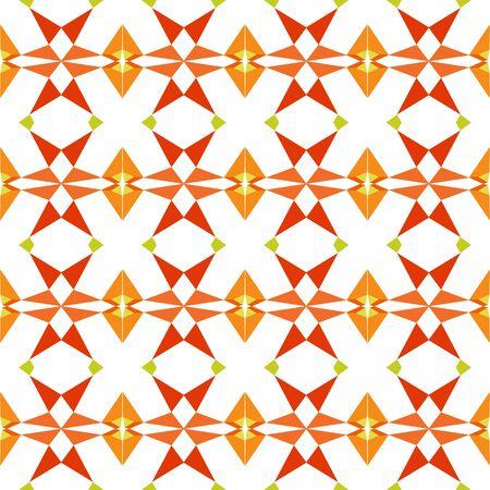 seamless pattern background with orange red, dark orange and Light grayish green colors. Reklamní fotografie