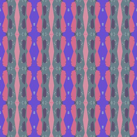 abstract seamless pattern with slate gray, slate blue and pale violet red colors. endless texture for wallpaper, creative or fashion design.