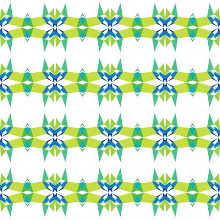 seamless repeating pattern simple with light sea green, yellow green and honeydew colors. Stock Photo
