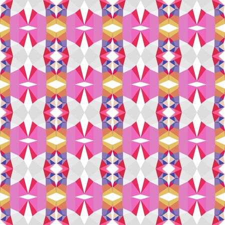 seamless pattern simple with orchid, crimson and antique white colors. Reklamní fotografie