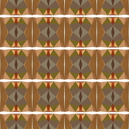 seamless wallpaper design pattern with pastel brown, brown and sandy brown colors.