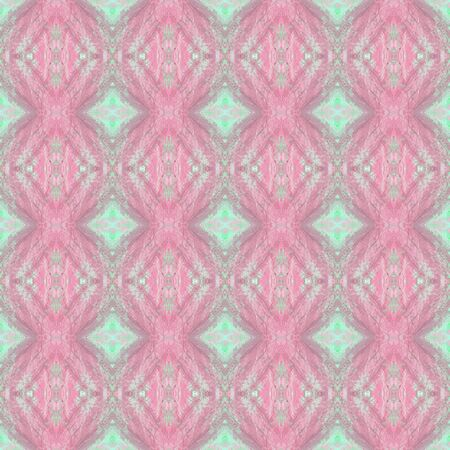 repeatable pattern design with pastel violet, powder blue and pastel gray colors. seamless graphic element can be used for wallpaper, creative art or fashion design. Foto de archivo