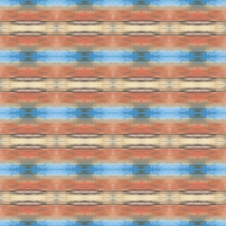 seamless deco pattern background. rosy brown, cadet blue and light steel blue colors. repeatable texture for wallpaper, presentation or fashion design. Foto de archivo - 129711025