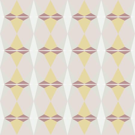 decorative seamless pattern with light gray, rosy brown and pale golden rod colors. Foto de archivo - 129711023